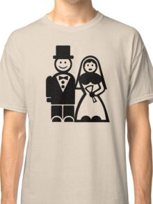 Wedding couple Classic T-Shirt