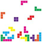 tetris on white by morf