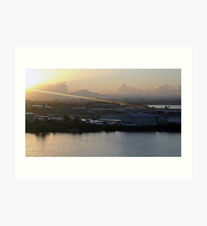 Sunbeam on San Juan Art Print