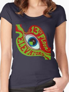 13th Floor Elevators T-Shirt Women's Fitted Scoop T-Shirt