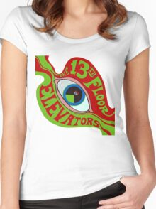 13th Floor Elevators T-Shirt Women's Fitted Scoop T-Shirt