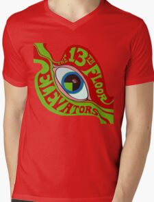 13th Floor Elevators T-Shirt Mens V-Neck T-Shirt