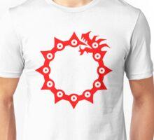 Nanatsu no taizai: Anger symbol (red) Unisex T-Shirt