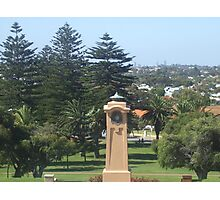 Monument Hill Memorial Reserve. Fremantle. Photographic Print
