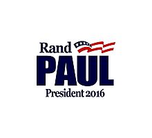 Rand Paul 2016 Photographic Print