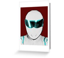 Top Gear Inspired Pop Art The Stig Greeting Card