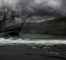 Pirate ship by franceslewis
