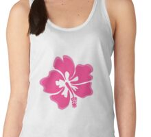 Double Pink Hibiscus  Women's Tank Top