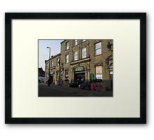 Fleetwood Market. Framed Print