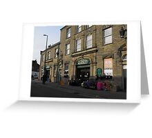 Fleetwood Market. Greeting Card