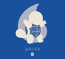 Pokemon Type - Water by spyrome876