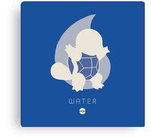 Pokemon Type - Water Canvas Print