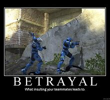 Halo 3: Respect Thy Teammates by Wickdness2335