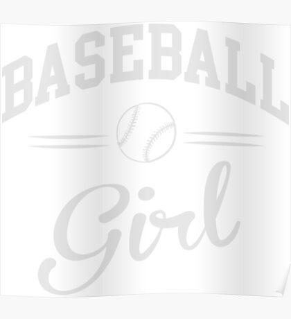 Baseball Girl Poster