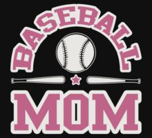 Baseball Mom One Piece - Short Sleeve