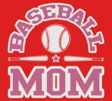 Baseball Mom Kids Clothes