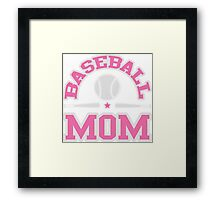 Baseball Mom Framed Print