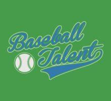 Baseball Talent Baby Tee