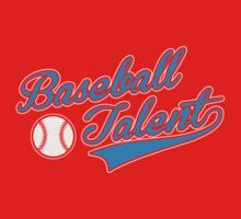 Baseball Talent One Piece - Short Sleeve