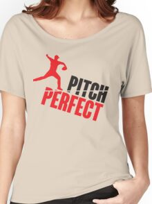 Pitch perfect Women's Relaxed Fit T-Shirt