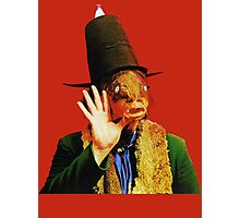 Captain Beefheart Trout Mask Replica Photographic Print