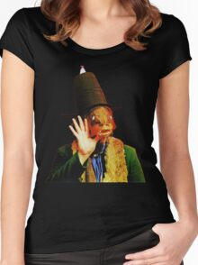 Captain Beefheart Trout Mask Replica Women's Fitted Scoop T-Shirt