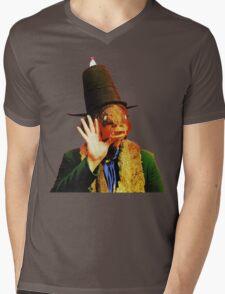 Captain Beefheart Trout Mask Replica Mens V-Neck T-Shirt