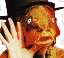 Captain Beefheart Trout Mask Replica Sticker