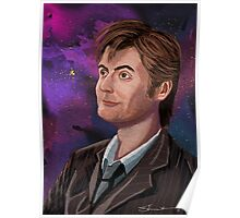 David Tennant the 10th Doctor Poster