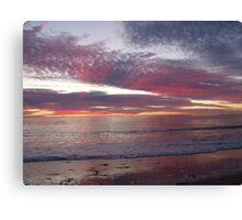 Tequila sunrise. Canvas Print