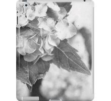 Hydrangea in Black and White iPad Case/Skin