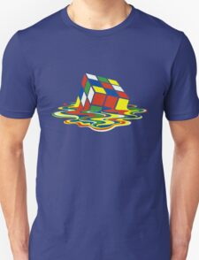 Rubiks Magic Cube in the Ocean Sea T-Shirt