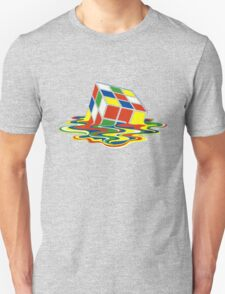 Rubiks Magic Cube in the Ocean Sea Unisex T-Shirt