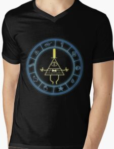 """Bill's Wheel"" from Gravity Falls Mens V-Neck T-Shirt"