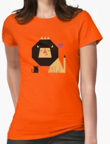 Love Lion Womens Fitted T-Shirt