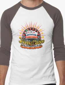 Johhny Casino Autoshop Men's Baseball ¾ T-Shirt