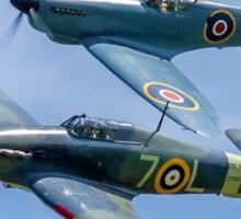 Sea Hurricane & Spitfire formation Sticker