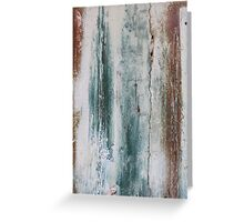 Painted Door  - JUSTART © Greeting Card