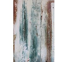 Painted Door  - JUSTART © Photographic Print