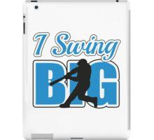 I swing big iPad Case/Skin
