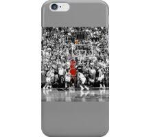 Micheal Jordan- Last Shot iPhone Case/Skin
