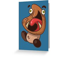 Excited Goomba Greeting Card