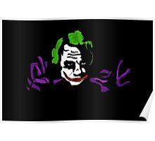 Black joker Poster