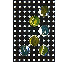 Marbles On Spots Photographic Print