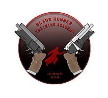 blade runner training school  Photographic Print