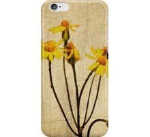 Golden Ragwort - Textured iPhone Case/Skin