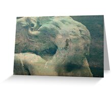 Greek Goddess - JUSTART © Greeting Card