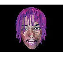 Wiz Khalifa Purp Lowpoly Photographic Print