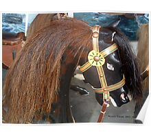 Watch Hill Carousel - Spotted Brown Horse Poster