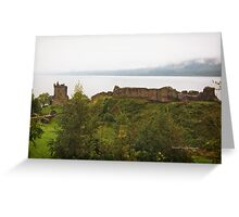Urquhart Castle (Loch Ness, Scotland) Greeting Card